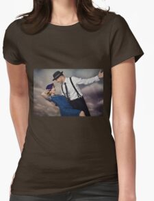 vintage couple No.2 Womens Fitted T-Shirt
