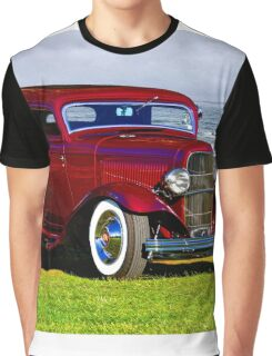 1932 Ford 'Old School Hot Rod' Coupe Graphic T-Shirt