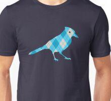 Argyle Blue Jay Unisex T-Shirt
