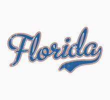 Florida Script Blue VINTAGE Kids Clothes