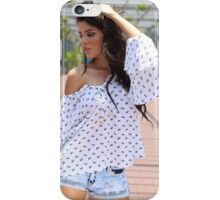Portrait Of A sexy Woman  iPhone Case/Skin