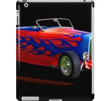 1932 Ford 'Blue Flame' Roadster iPad Case/Skin
