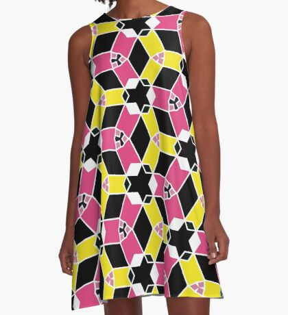 Map Reference 50 A-Line Dress