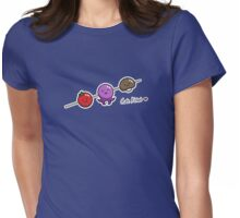 Cute Kebab - two lof bees Womens Fitted T-Shirt