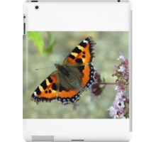 Flitting Fritillary in Peebles Garden iPad Case/Skin