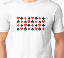 Poker casino gambling Unisex T-Shirt