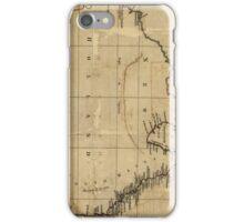 Vintage Map of Australia (1700s) iPhone Case/Skin