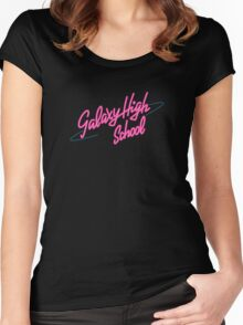Galaxy High School!  Women's Fitted Scoop T-Shirt