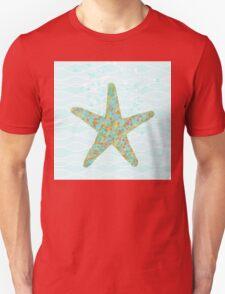Stella Starfish coastal sea life beach theme Unisex T-Shirt