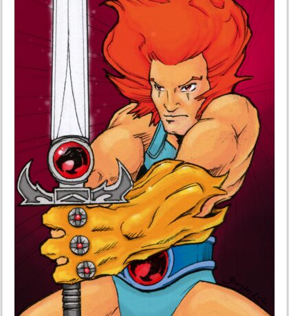 Lion-o - Thundercat Tribute Sticker