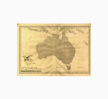 Vintage Map of Australia (1808) Unisex T-Shirt