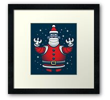 NAUGHTY OR NICE Framed Print