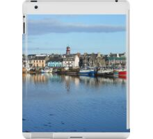 Colourful Boats - Summer Evening Reflections iPad Case/Skin