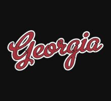 Georgia Script Red VINTAGE by Carolina Swagger