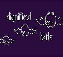 Dignified Bats - two lof bees by Josh Bush