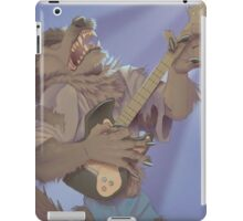 Werewolf Rocking Out iPad Case/Skin