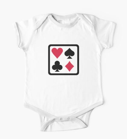 Poker colors One Piece - Short Sleeve