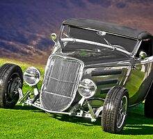 1934 Ford 'Gun Metal' Roadster by DaveKoontz