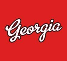 Georgia Script White  by Carolina Swagger