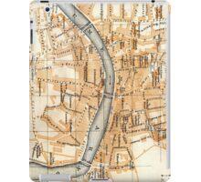 Vintage Map of Pisa Italy (1913) iPad Case/Skin