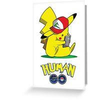 Human GO Greeting Card