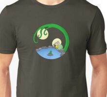Girl At The Pond Unisex T-Shirt