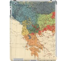 Vintage Map of The Balkans (1918) iPad Case/Skin