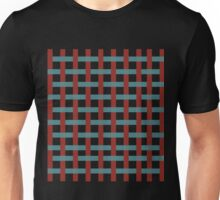 red and blue Unisex T-Shirt