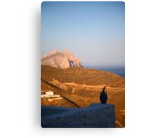 Somewhere in the Aegean Canvas Print