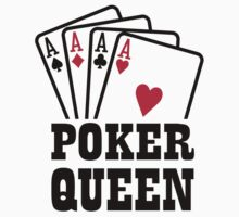 Poker queen Kids Tee