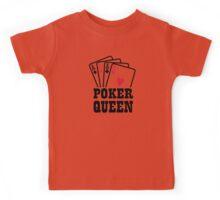 Poker queen Kids Tee