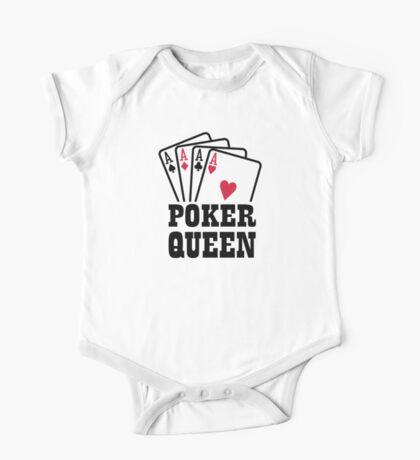 Poker queen One Piece - Short Sleeve