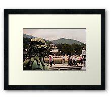 Bay Lion Framed Print
