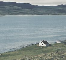 Icelandic homestead by Erland Howden