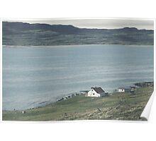 Icelandic homestead Poster