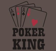 Poker king cards One Piece - Short Sleeve
