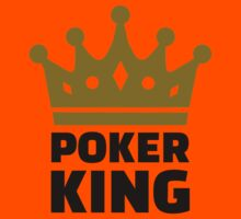 Poker king crown Kids Clothes