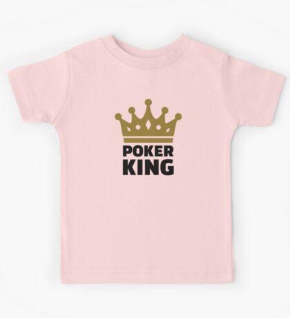 Poker king crown Kids Tee