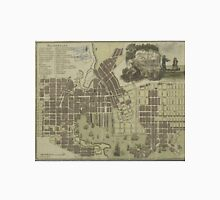 Vintage Map of Baltimore Maryland (1805) Unisex T-Shirt