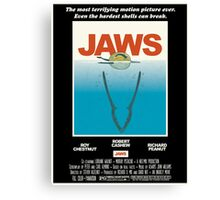 Jaws! Canvas Print