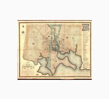 Vintage Map of Baltimore Maryland (1822) Unisex T-Shirt