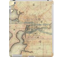 Vintage Map of Baltimore Maryland (1822) iPad Case/Skin