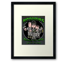 Norman's Paranormal pest control. Framed Print