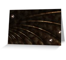 Copper Signal Greeting Card
