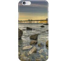 Sunset Pier. iPhone Case/Skin
