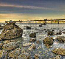 Sunset Pier. by Darren Wilkes