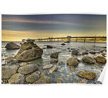 Sunset Pier. Poster
