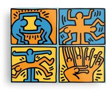 Keith Haring Metal Print