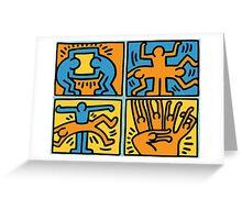 Keith Haring Greeting Card