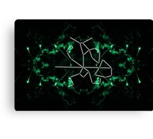 warrior constellation  Canvas Print